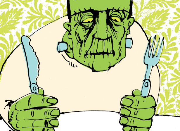 Genetically Modified Frankenstein Food