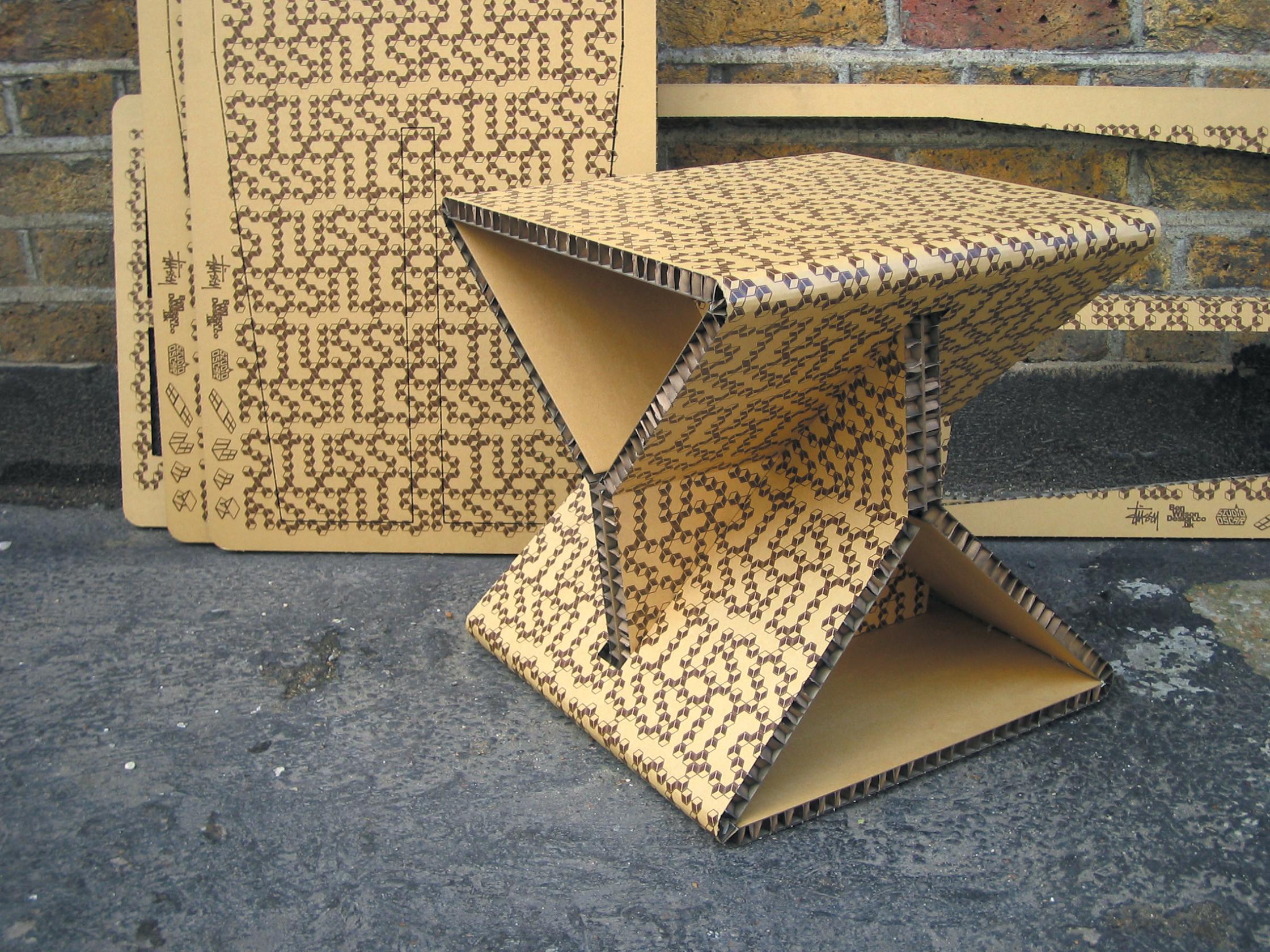 Stussy Hex Cardboard Table Japan
