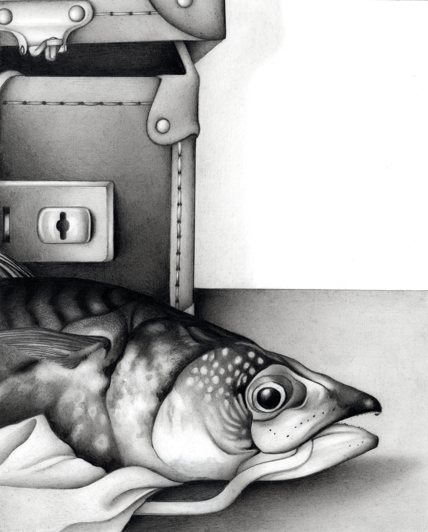Proverb Mackeral And Suitcase