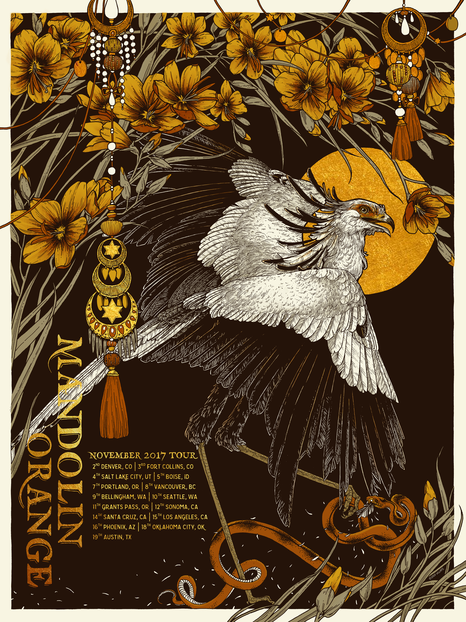 Mandolin Orange-Autumn Tour- Screen Print - Erica Williams.jpg