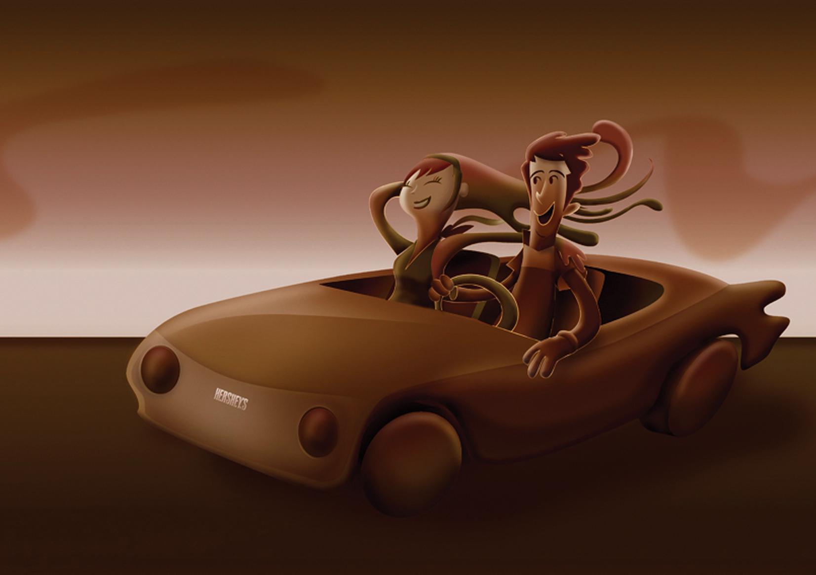 Hersheys Car