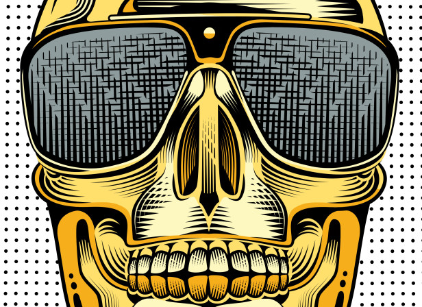 Gold Skull / Metropolitan