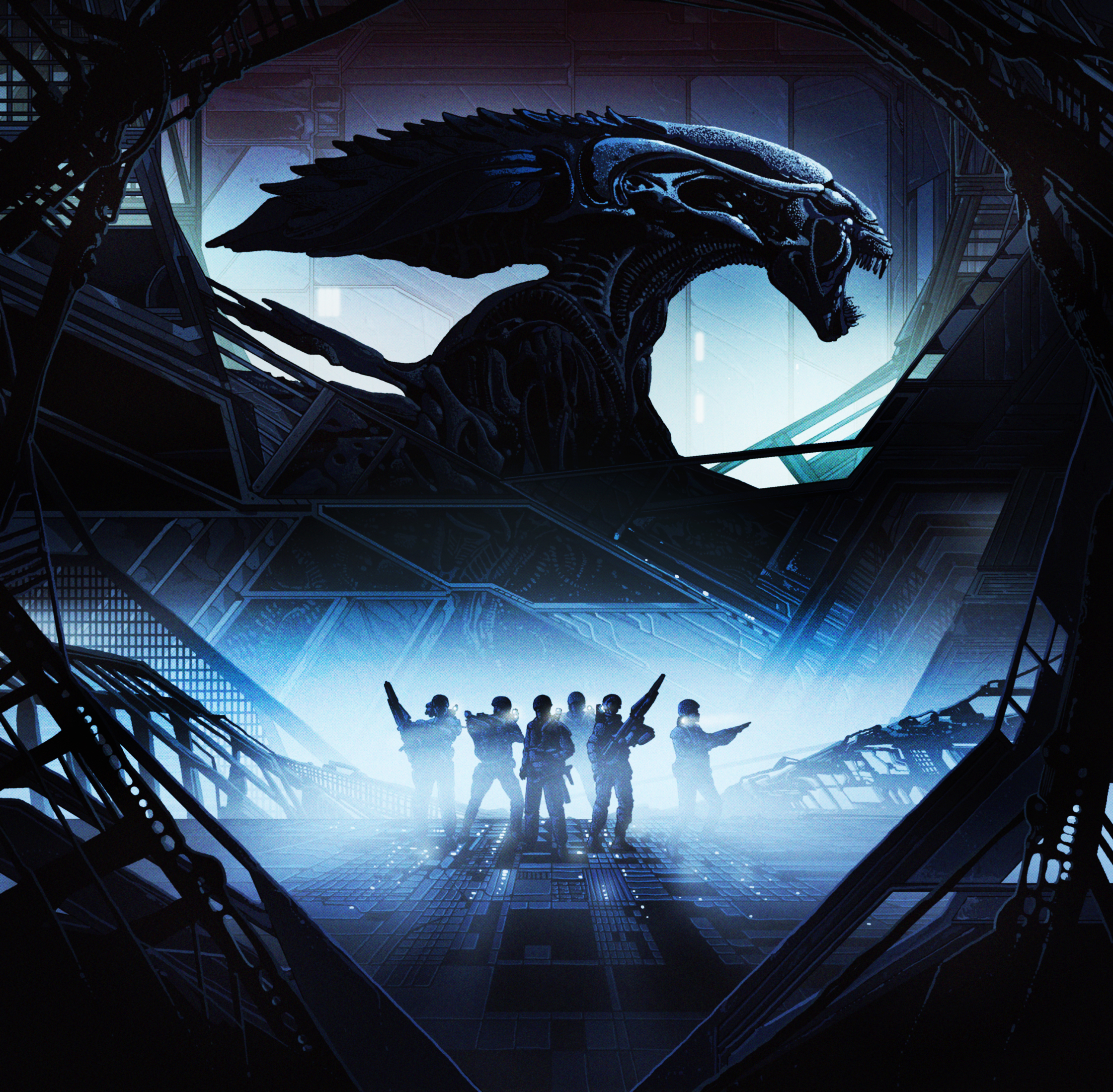 Aliens vinyl soundtrack front cover.jpg