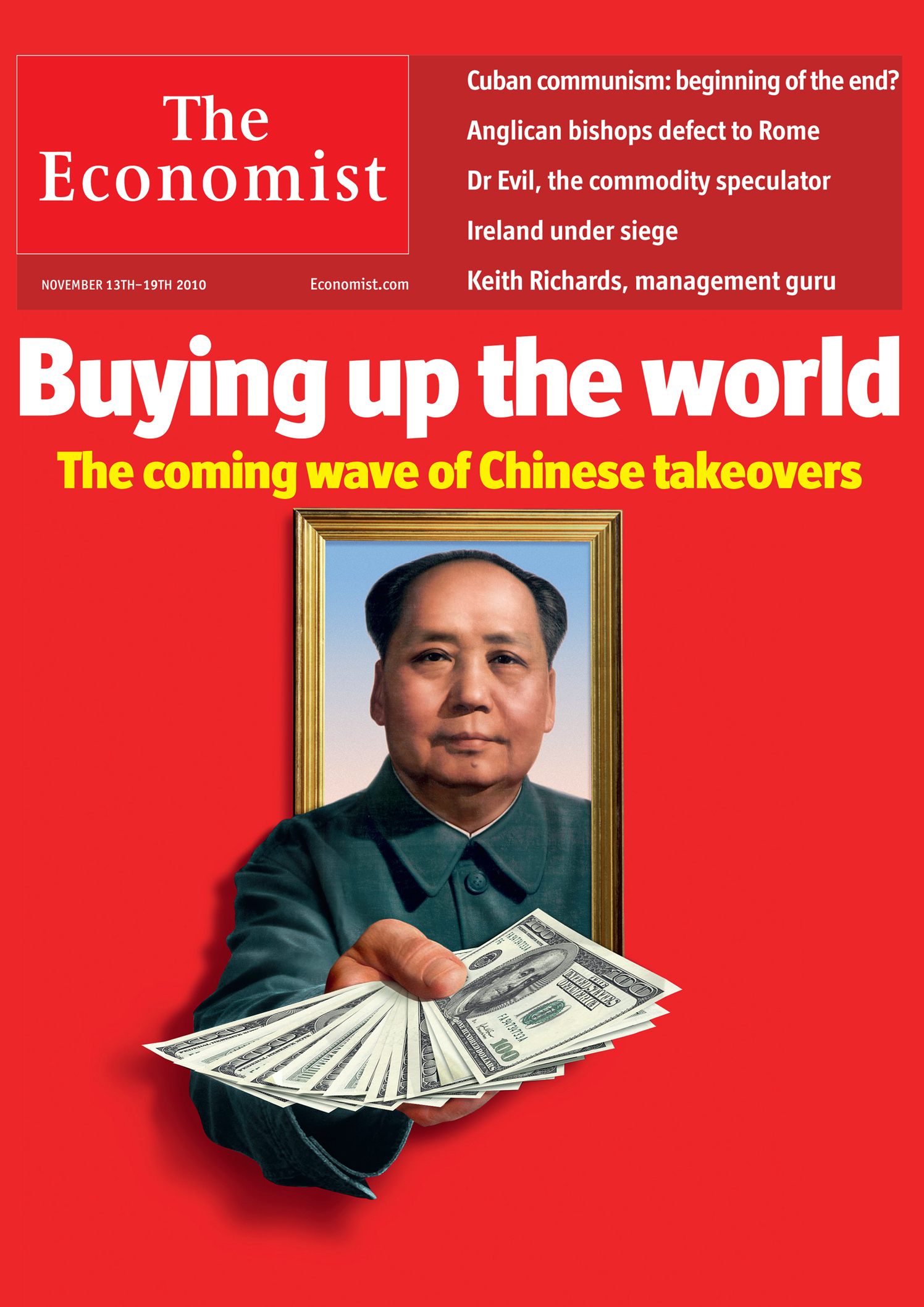 The Economist Buying Up The World