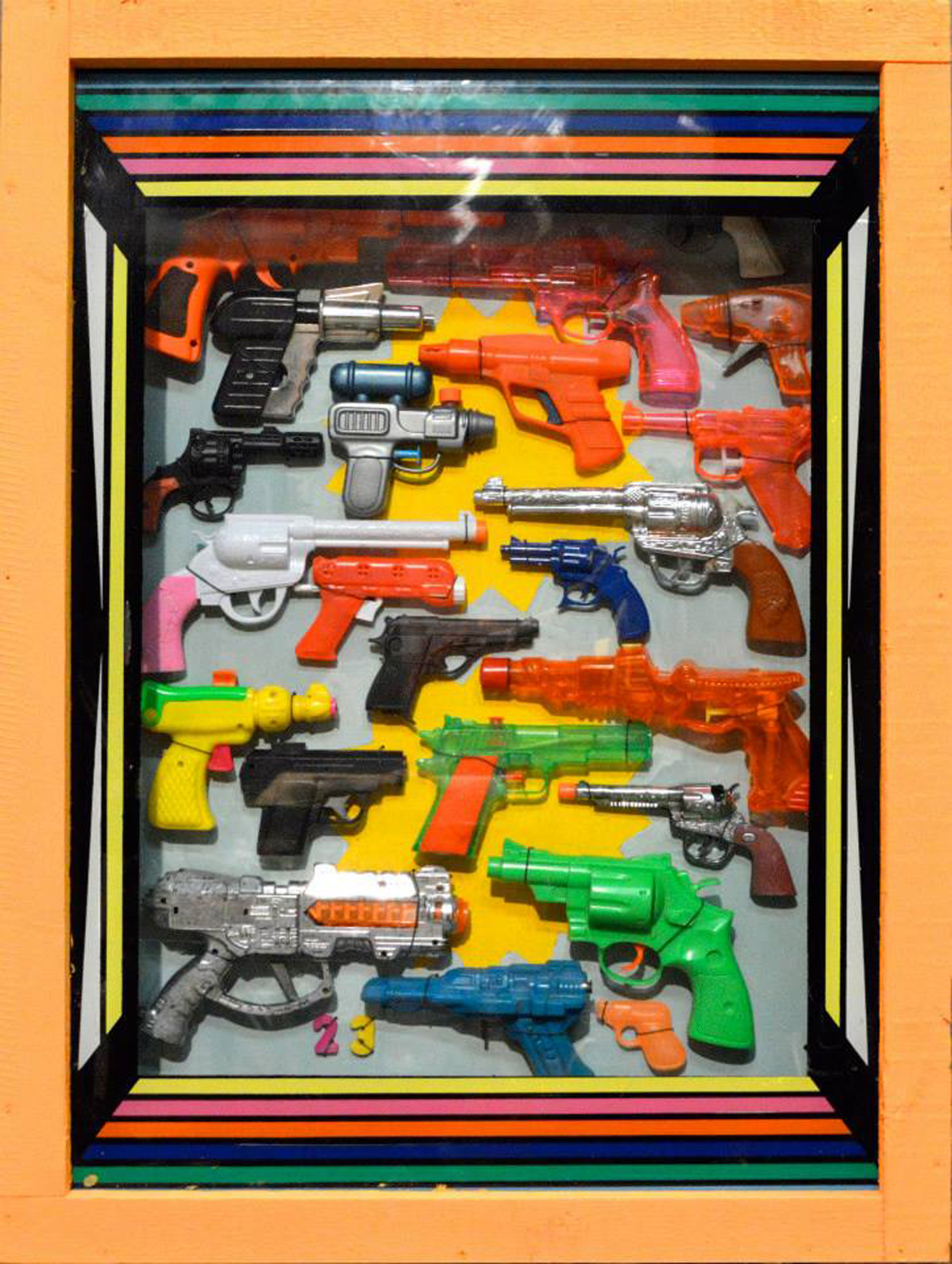 Plastic Toy Guns 3D Box Art