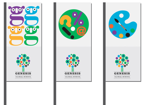 Genesis Global School Flags