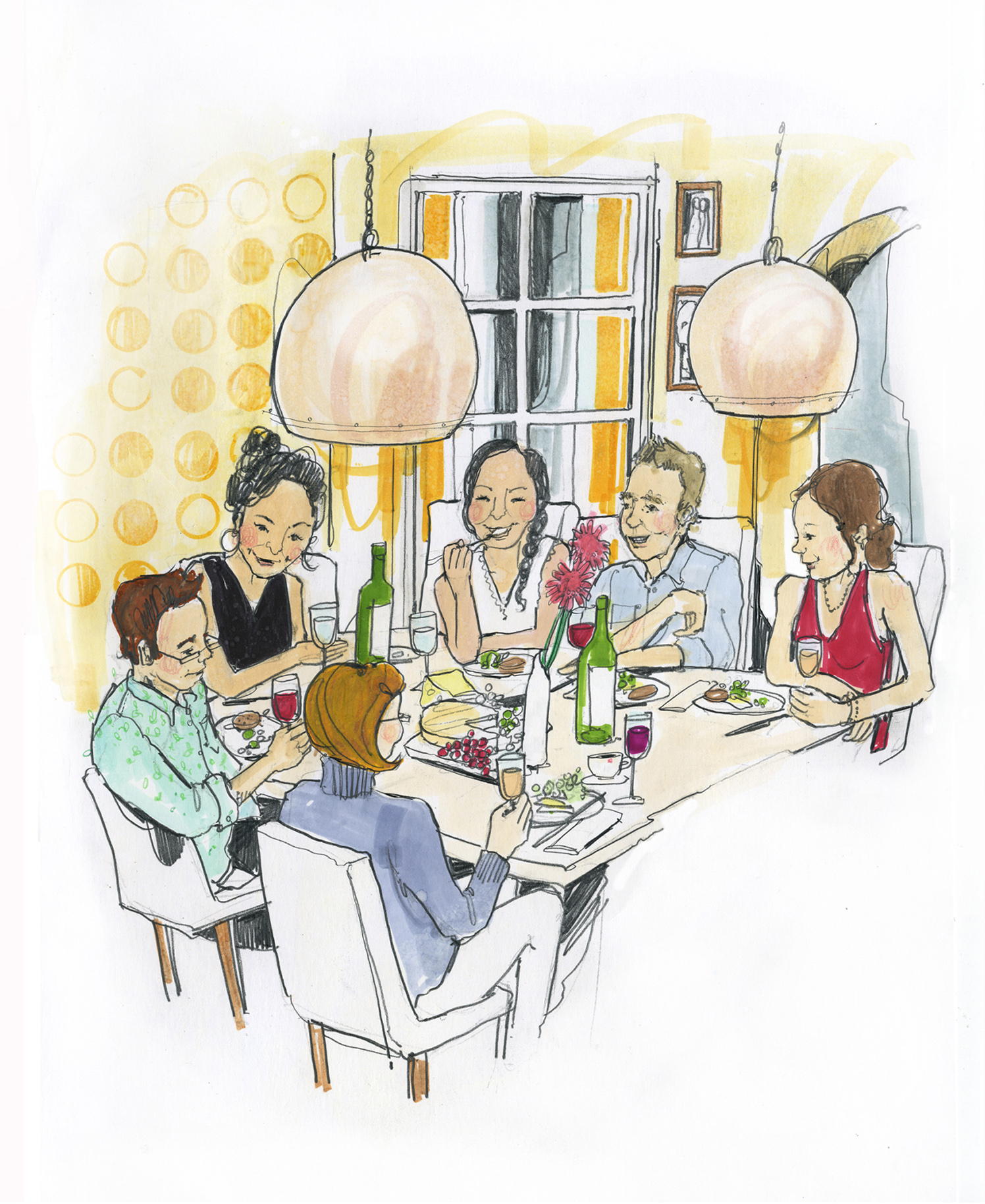 Dining In Estates Magazine