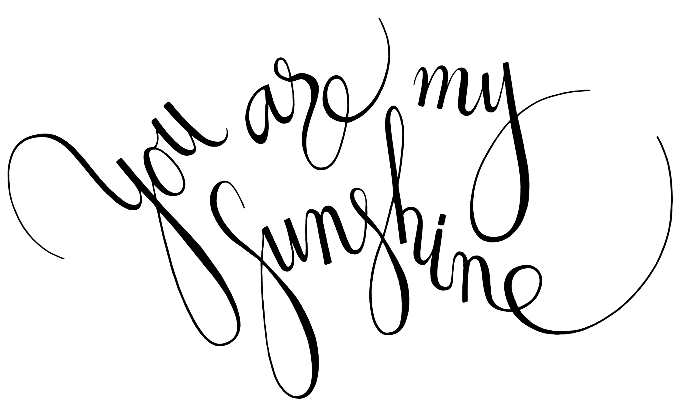 You Are My Sunshine Column And Crown Debut Art