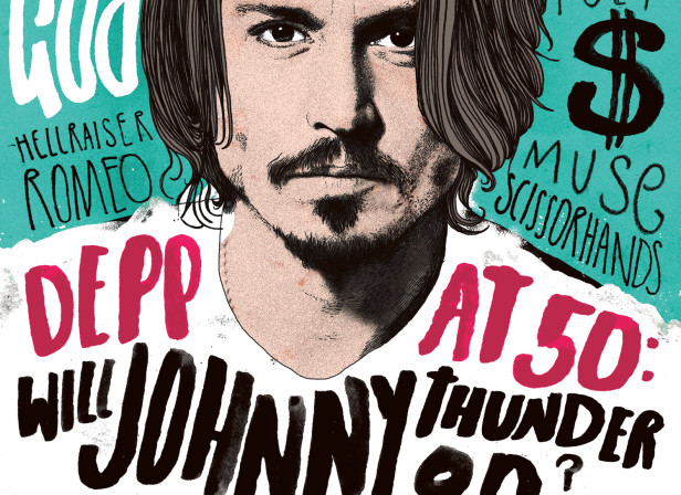 Johnny Depp / The Big Issue
