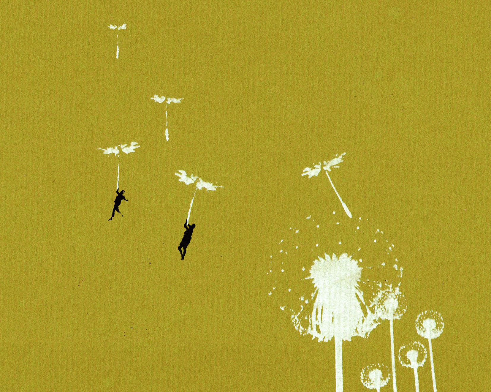 Dandelion Flight