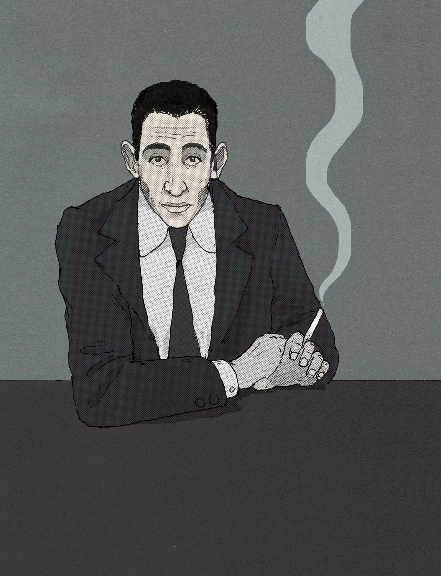 JD Salinger / The Telegraph