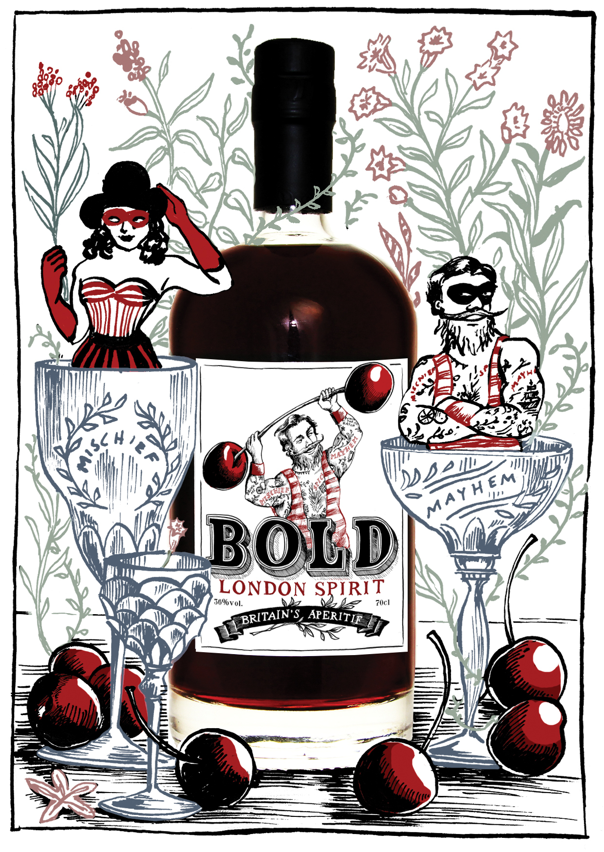 Bold Spirit Label Flyer