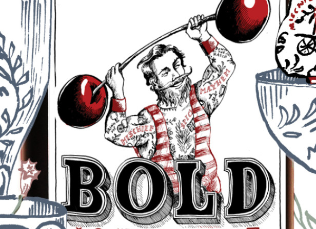 Bold Spirit Label Flyer