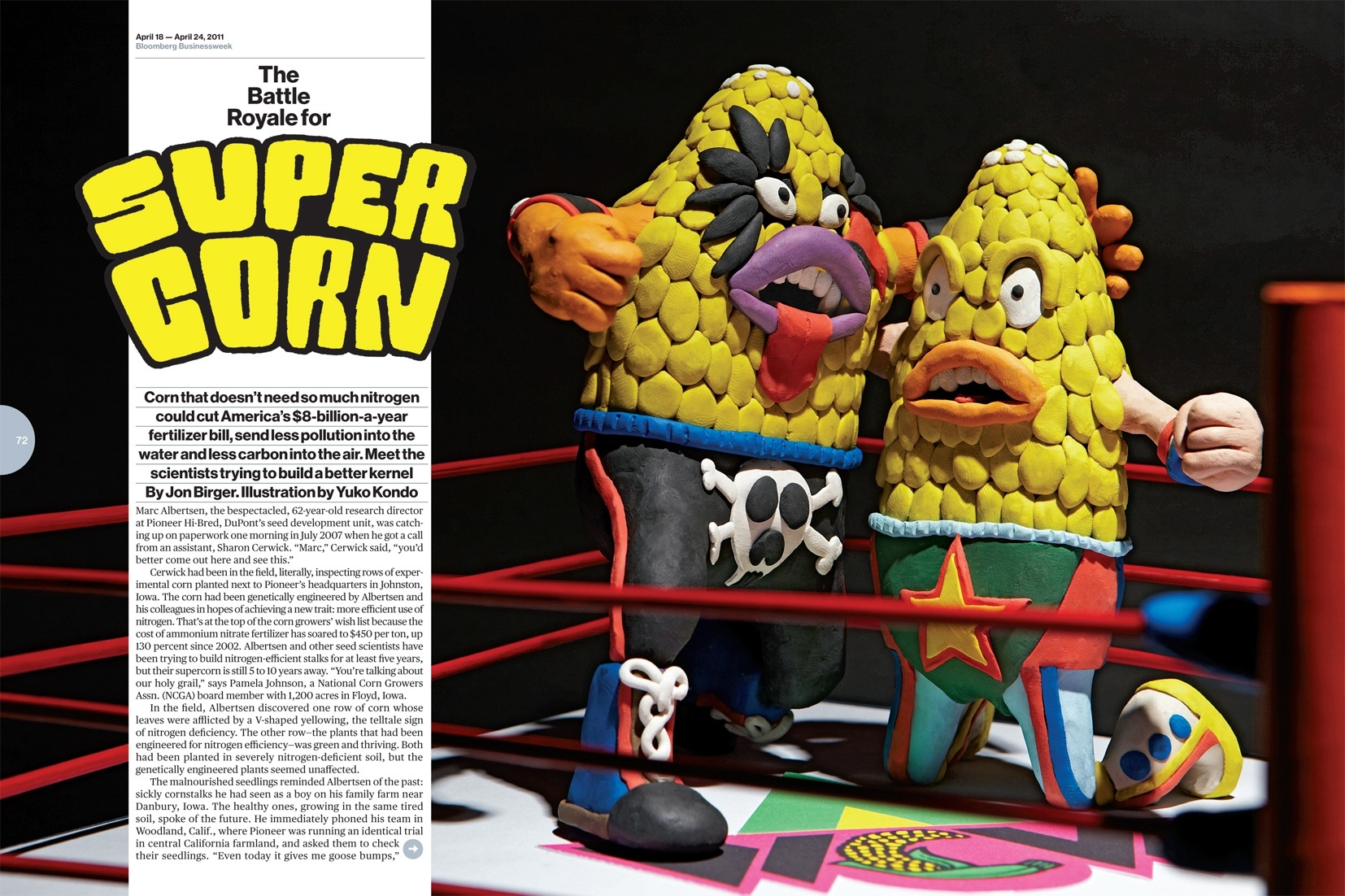 Bloomberg Businessweek CORN FIGHT