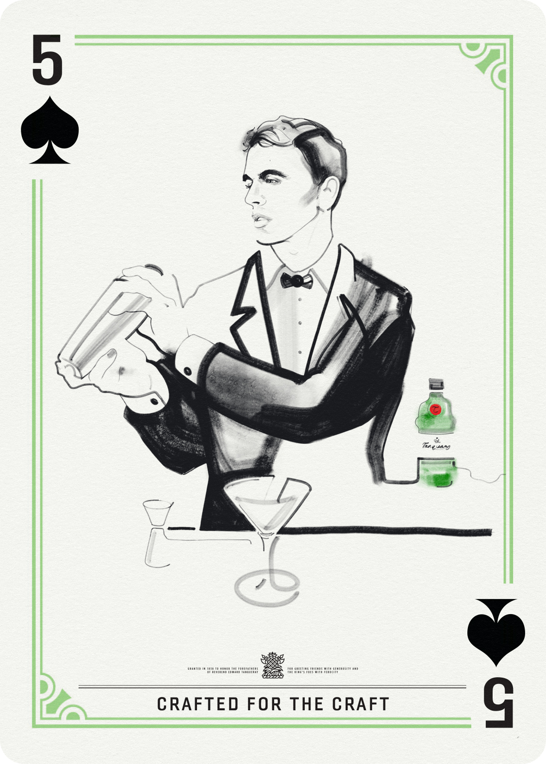 5 of Spades / Tanqueray