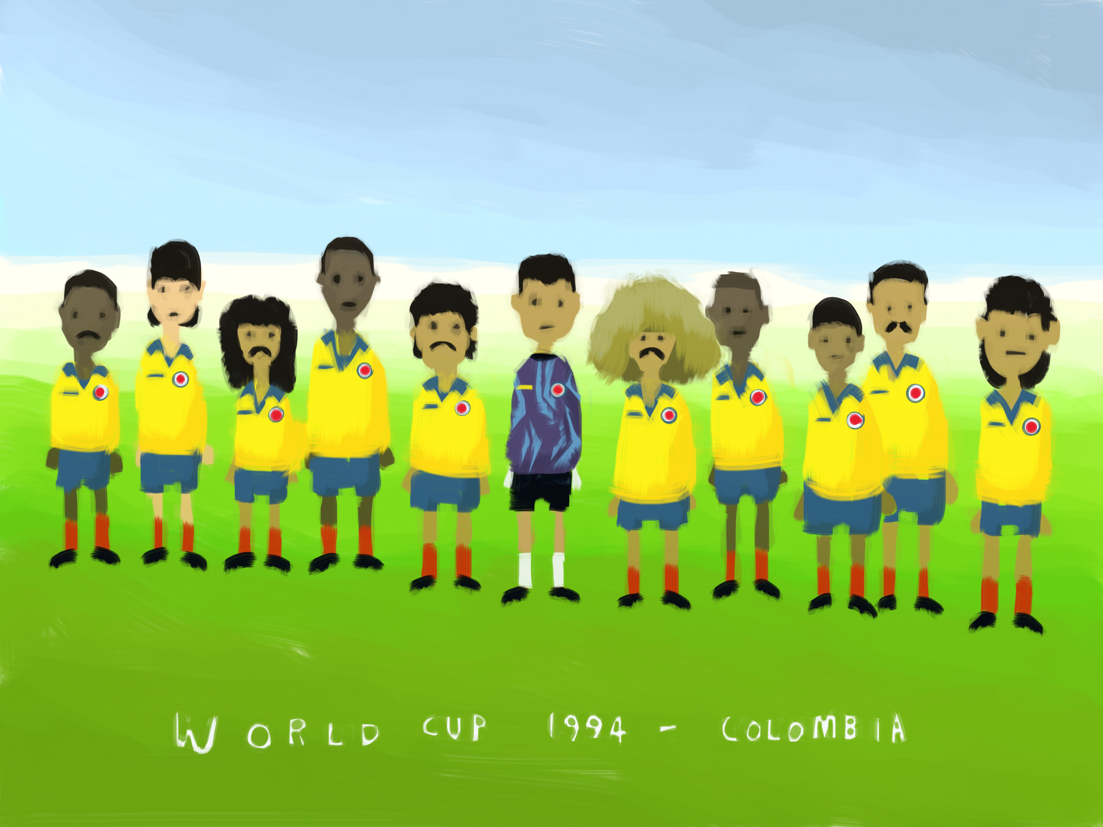 Columbia World Cup 1994