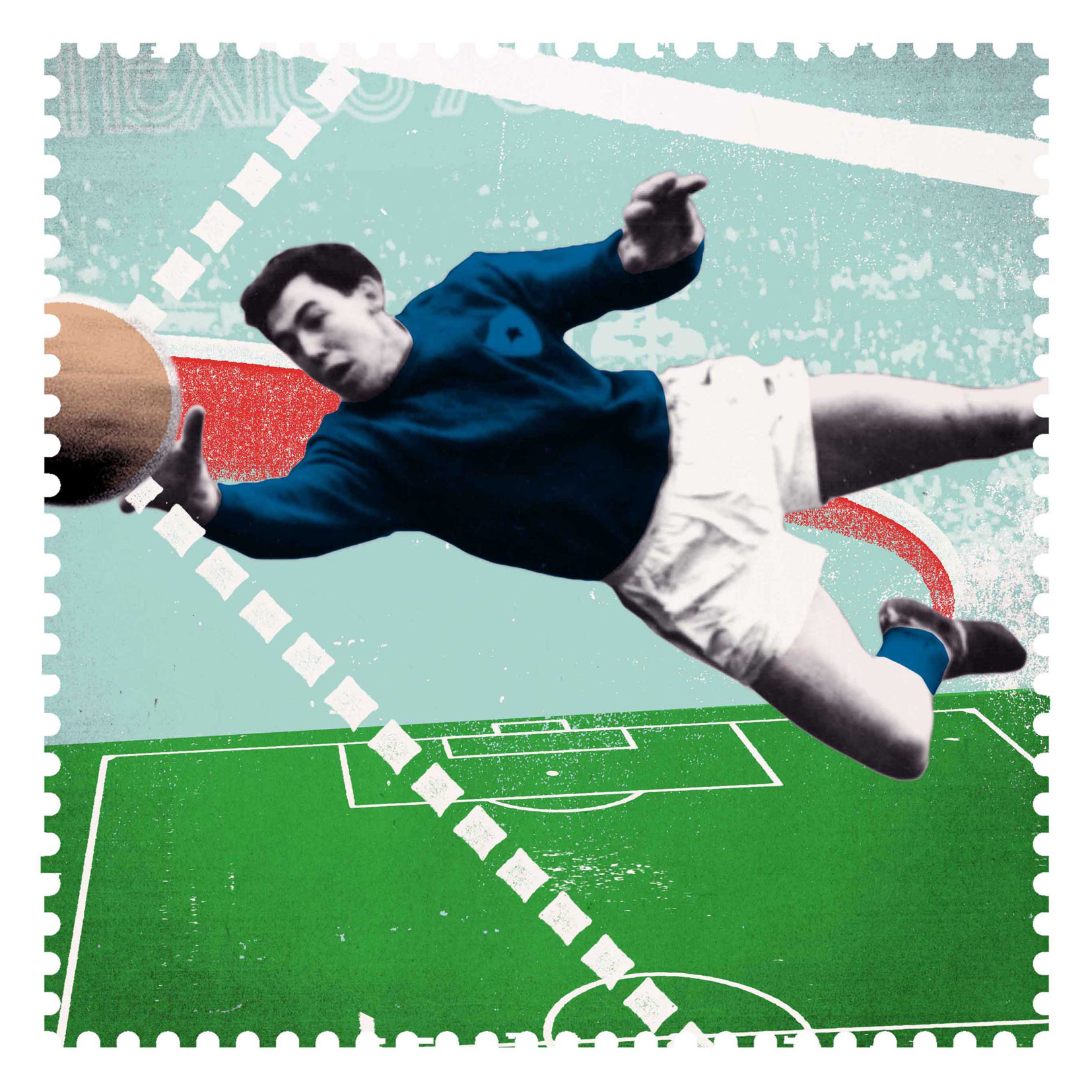 Gordon Banks Save / Royal Mail