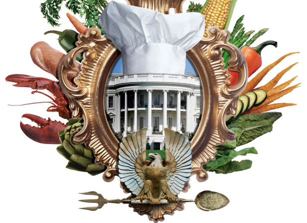 The White House Food Crest