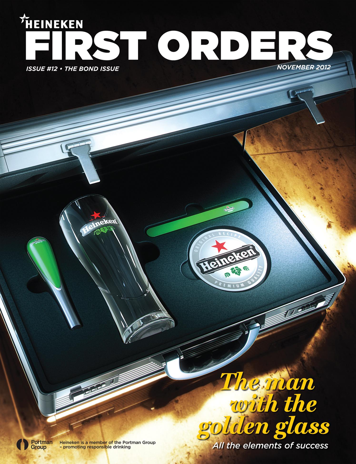 Heineken First Orders Magazine