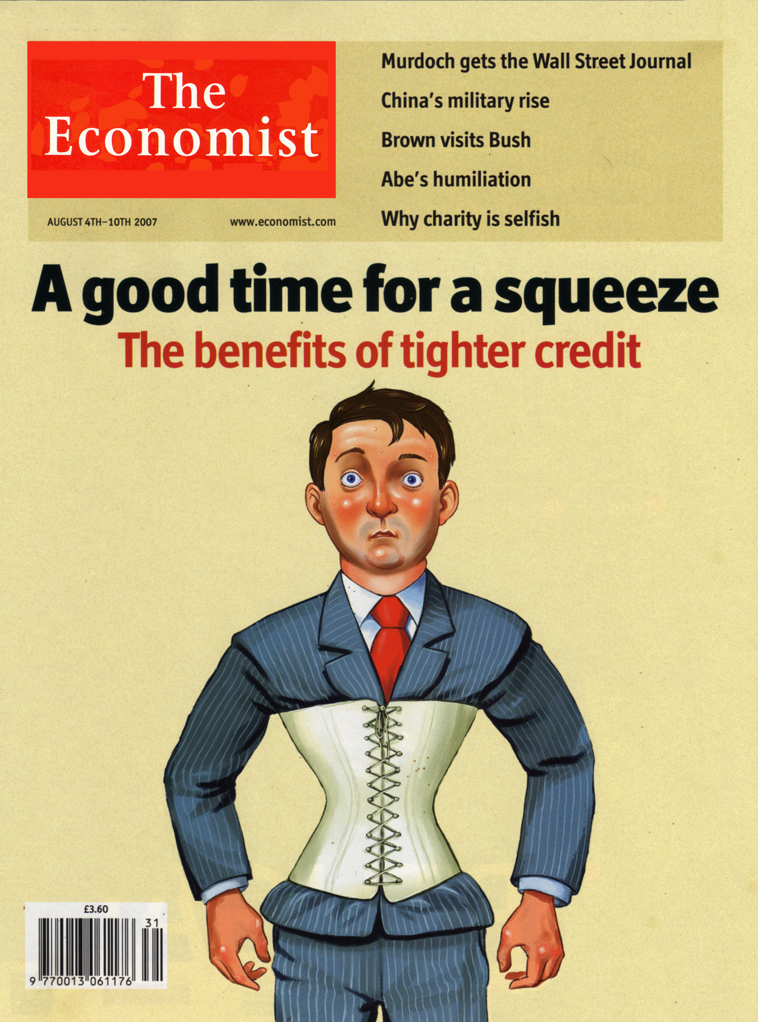 The Economist A Good Time For A Squeeze