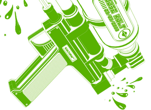Kulturm Supersoaker Music Poster