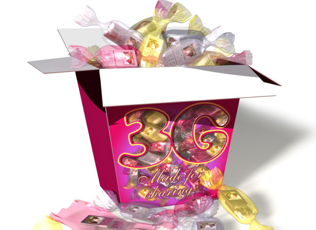 3G Mobile Phones Sweets In Wrappers