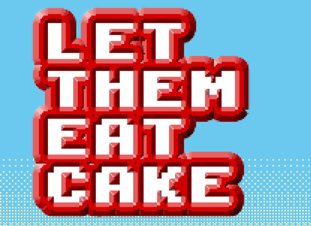 Let Them Eat Cake Web Game / Edinburgh Fringe Festival