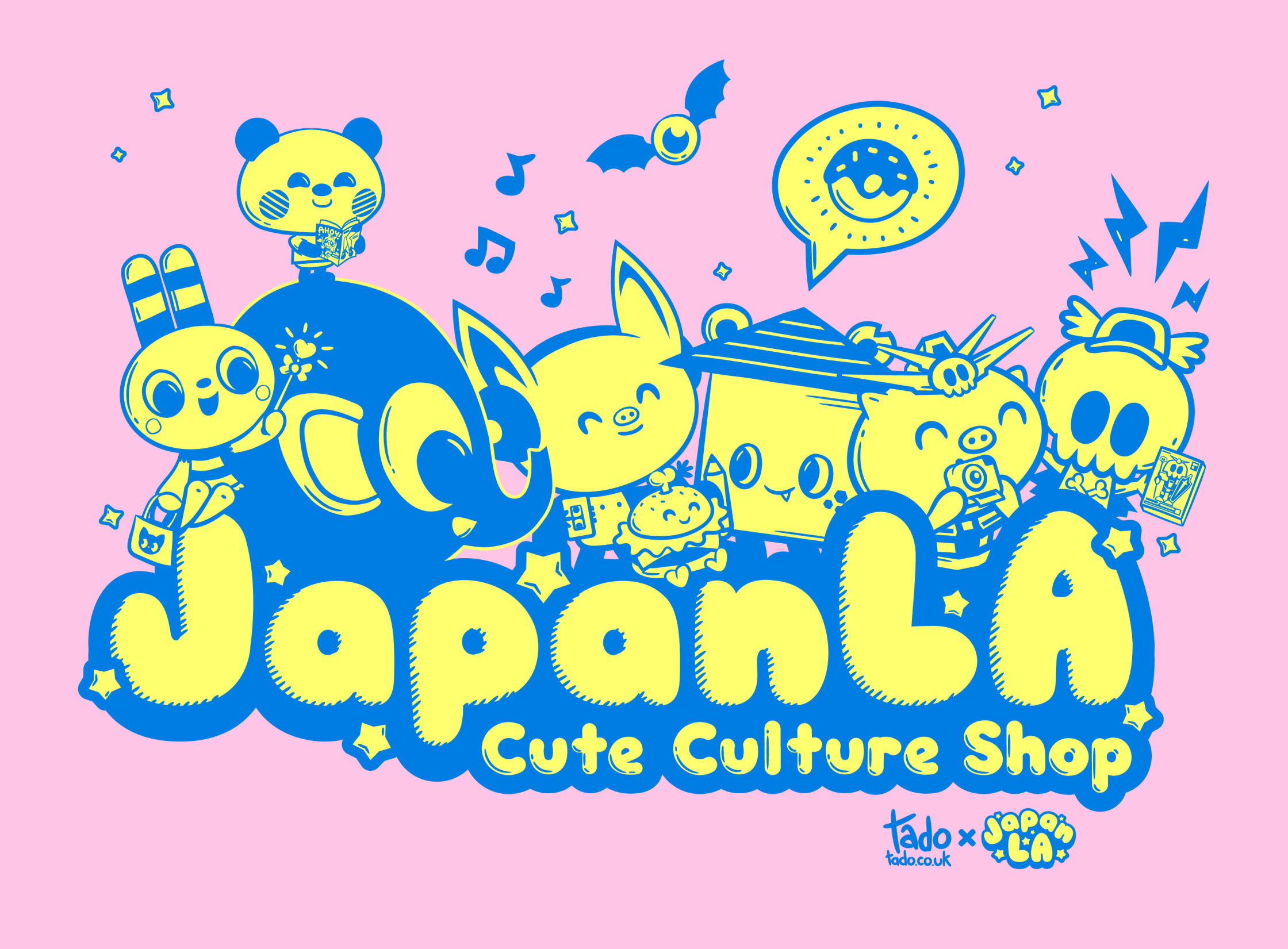 Japan LA Boutique Store Identity Logo 3