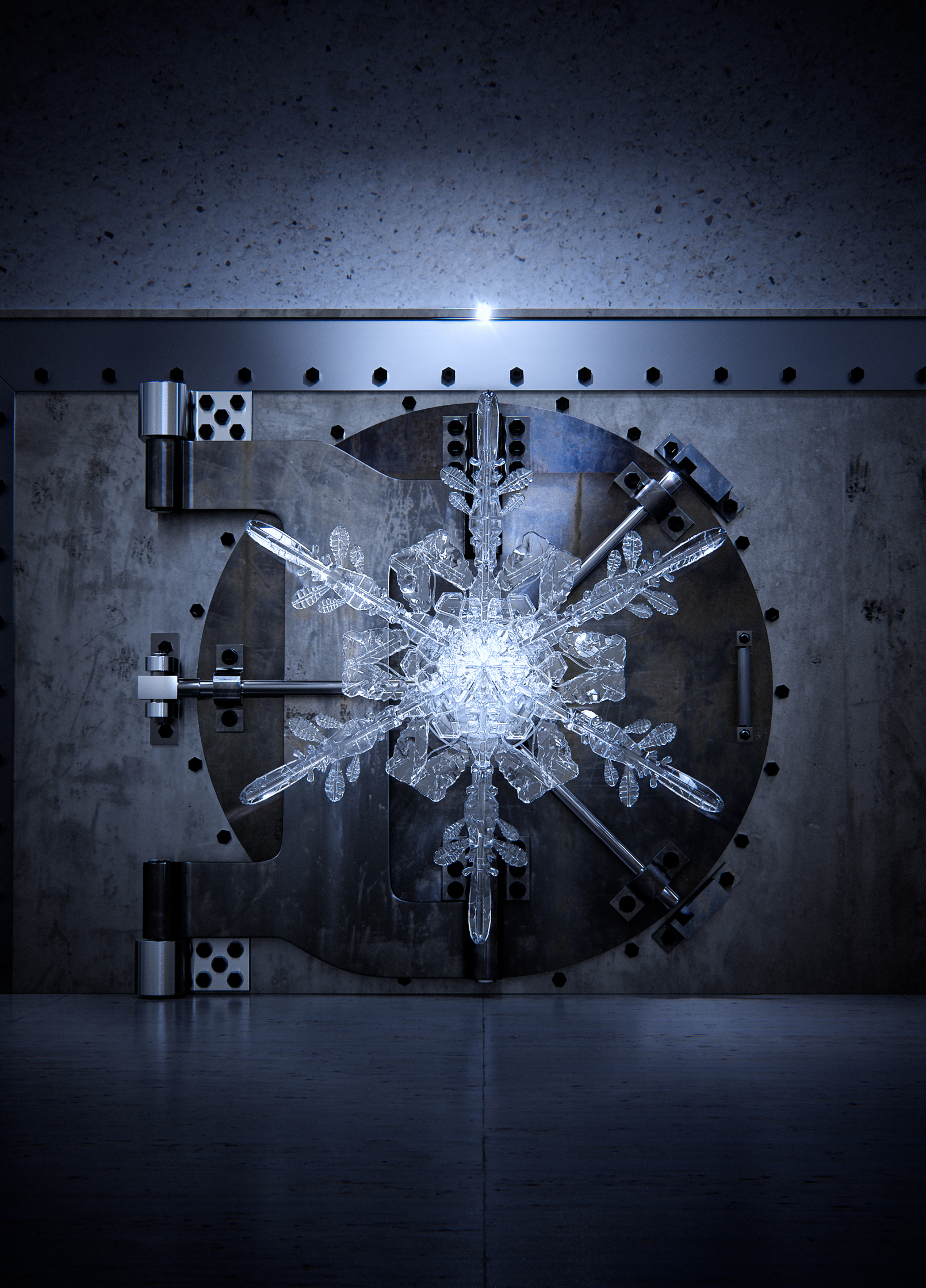 Snowflake Vault Cover Euromoney Magazine
