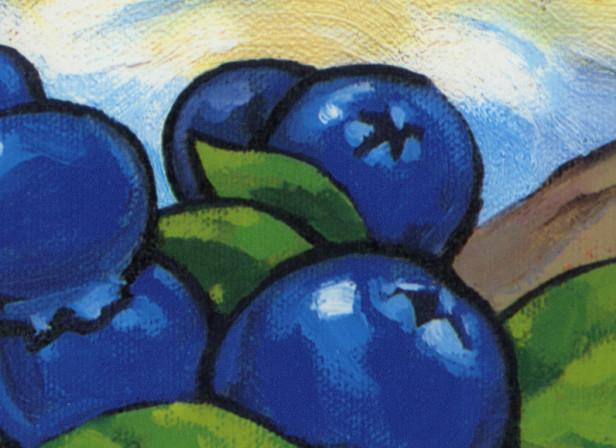 Dare Blueberry Cheesecake Van Gogh