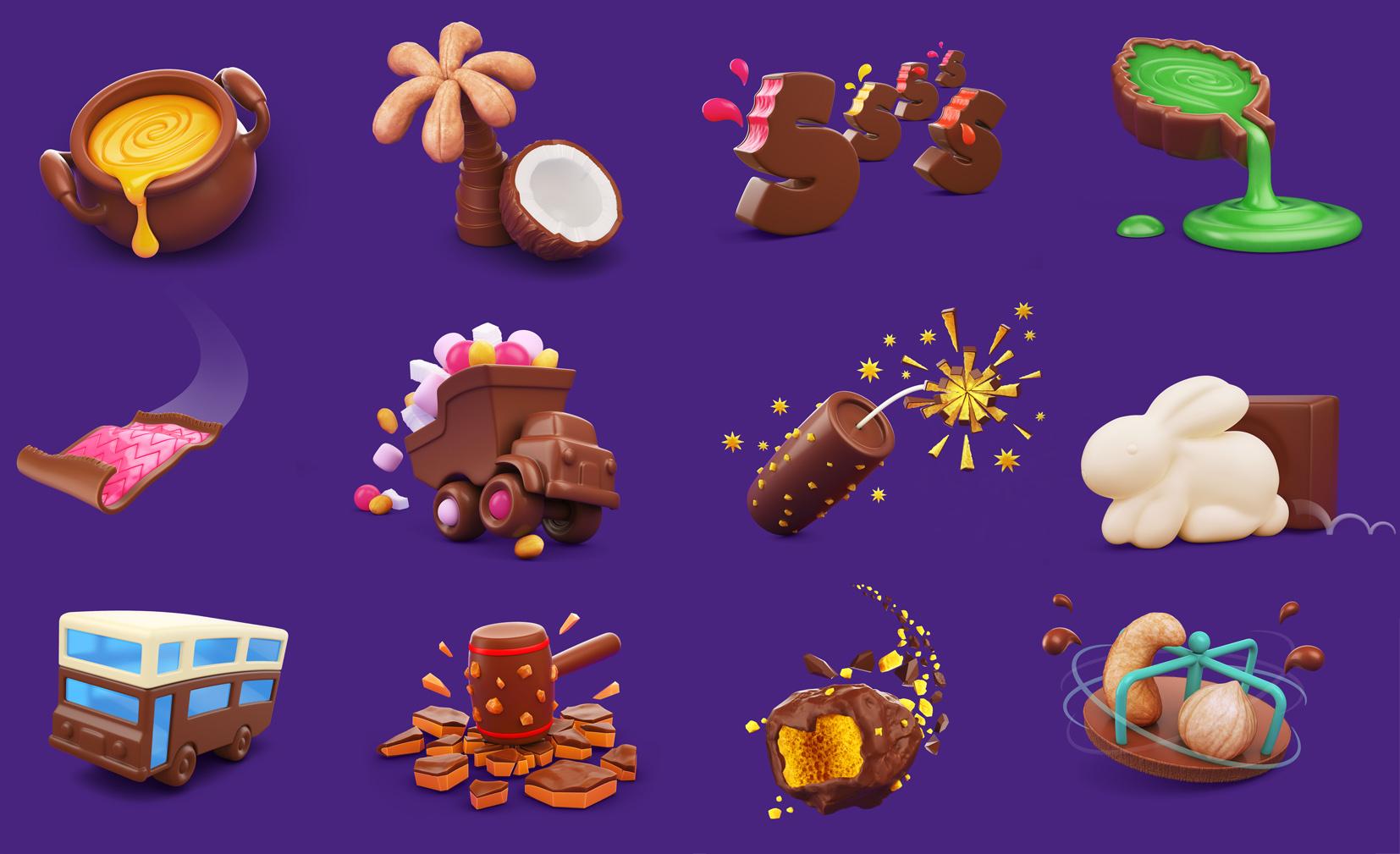 Cadbury Icons 1