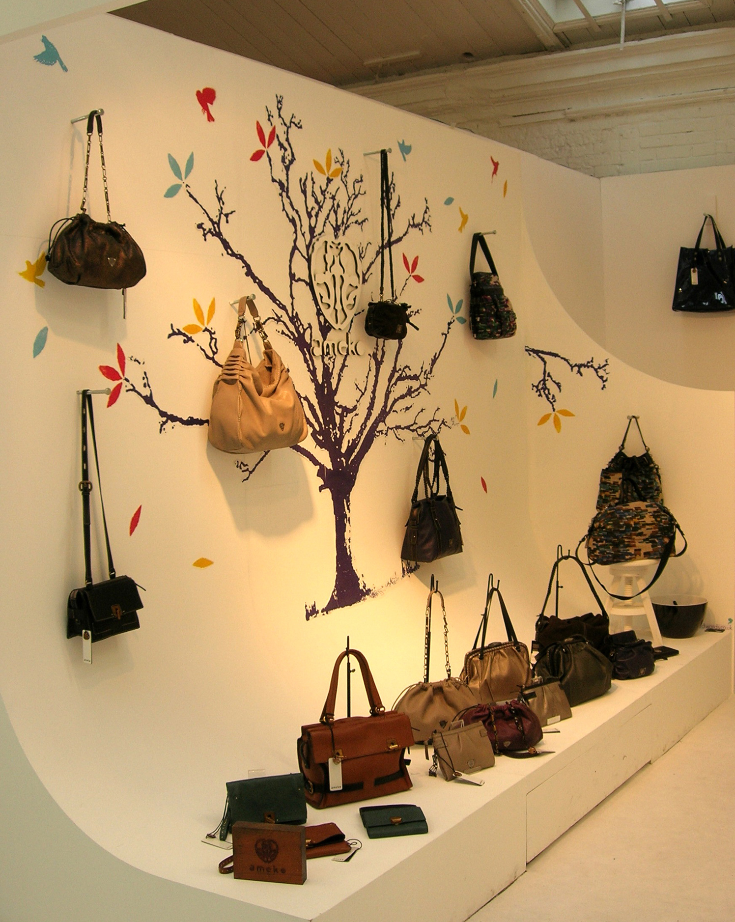 Autumn Ameko Bags Trade Show