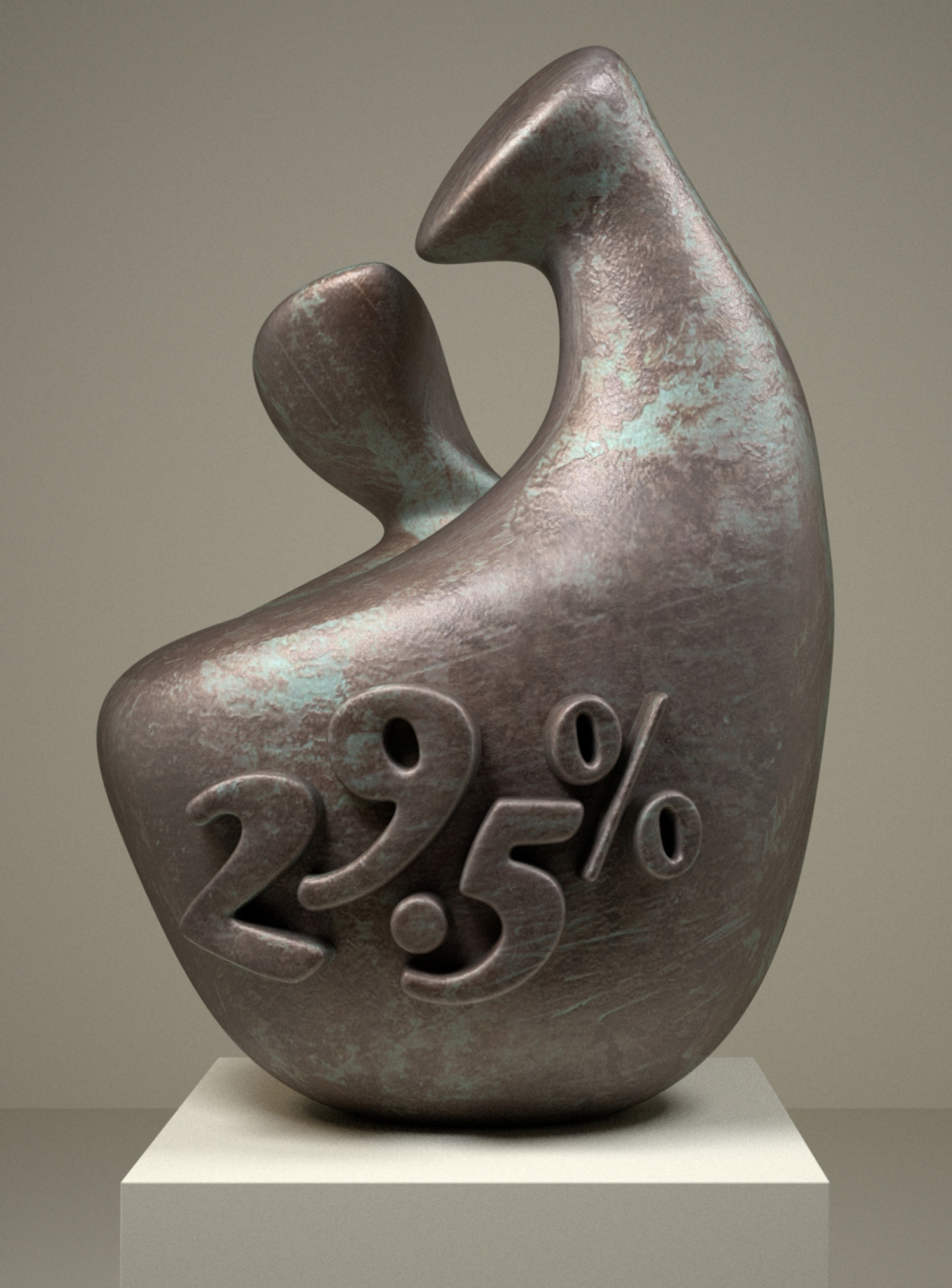 29.5% Henry Moore Sculpture