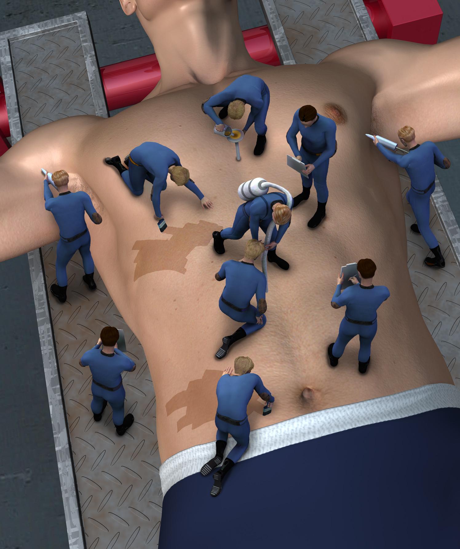 Medical Mens Health Body Maintenance
