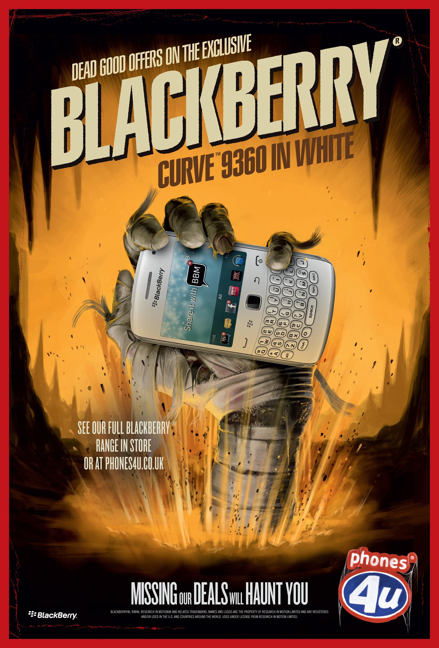 Phones4U Mummy Blackberry