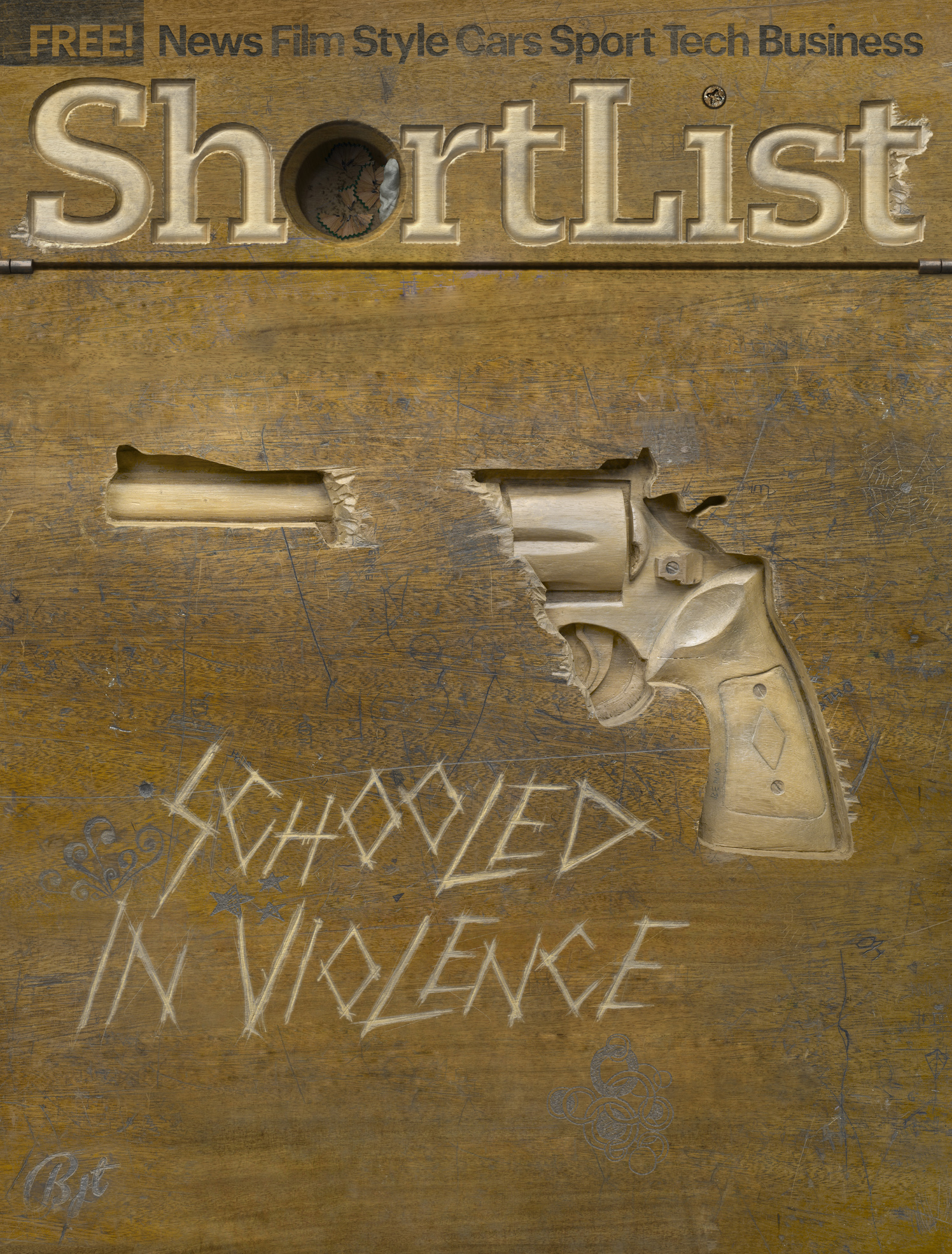 Schooled In Violence / Shortlist Magazine