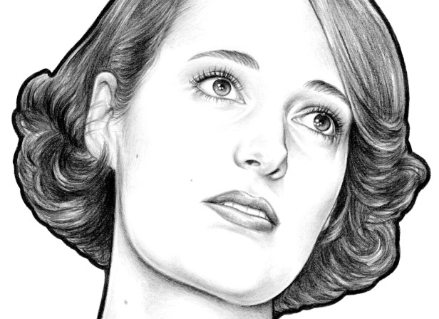 Fleabag-Phoebe-waller-bridge-illustrated-portrait-pencil-jennifer-dionisio.jpg