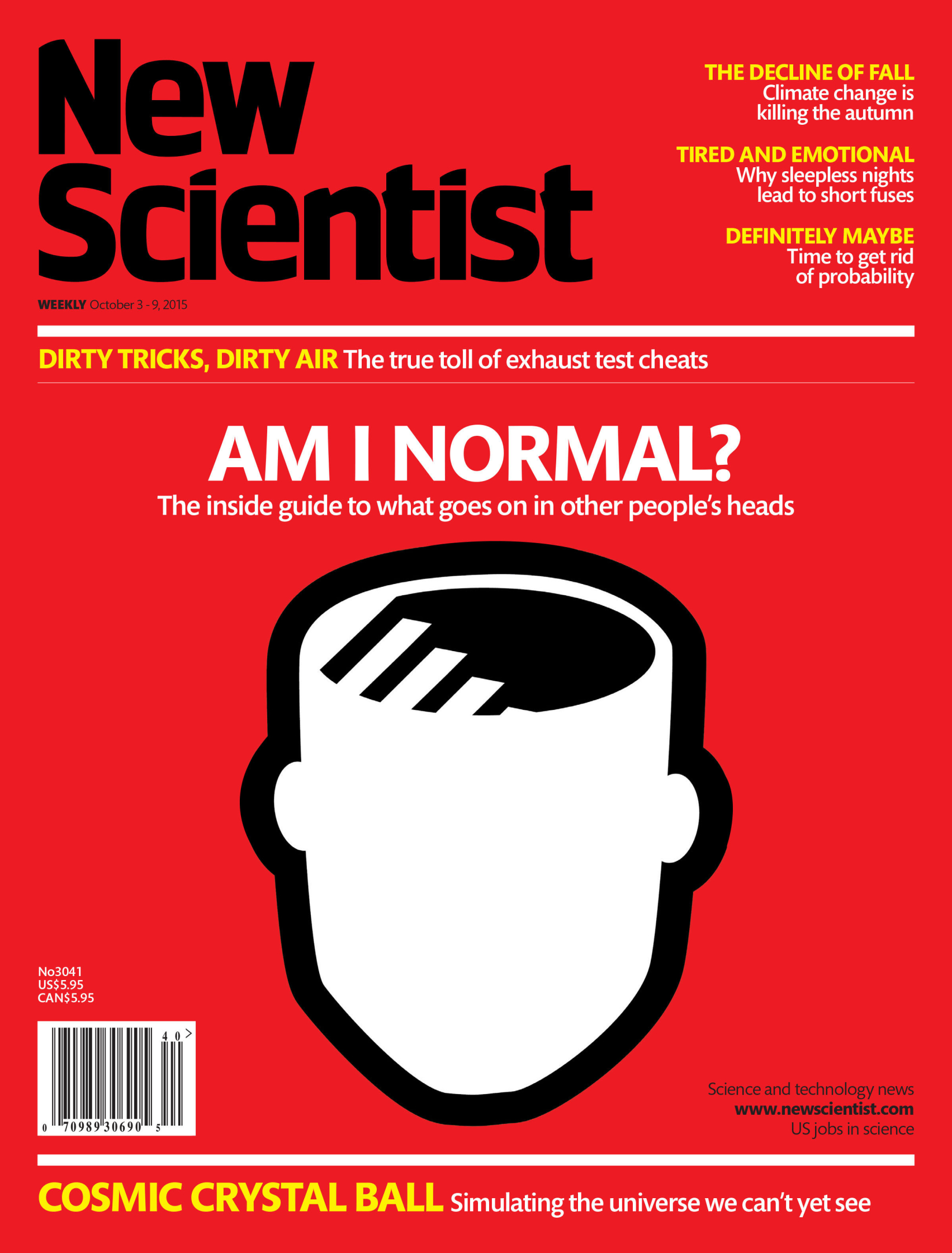 What Goes On Inside People's Heads / New Scientist