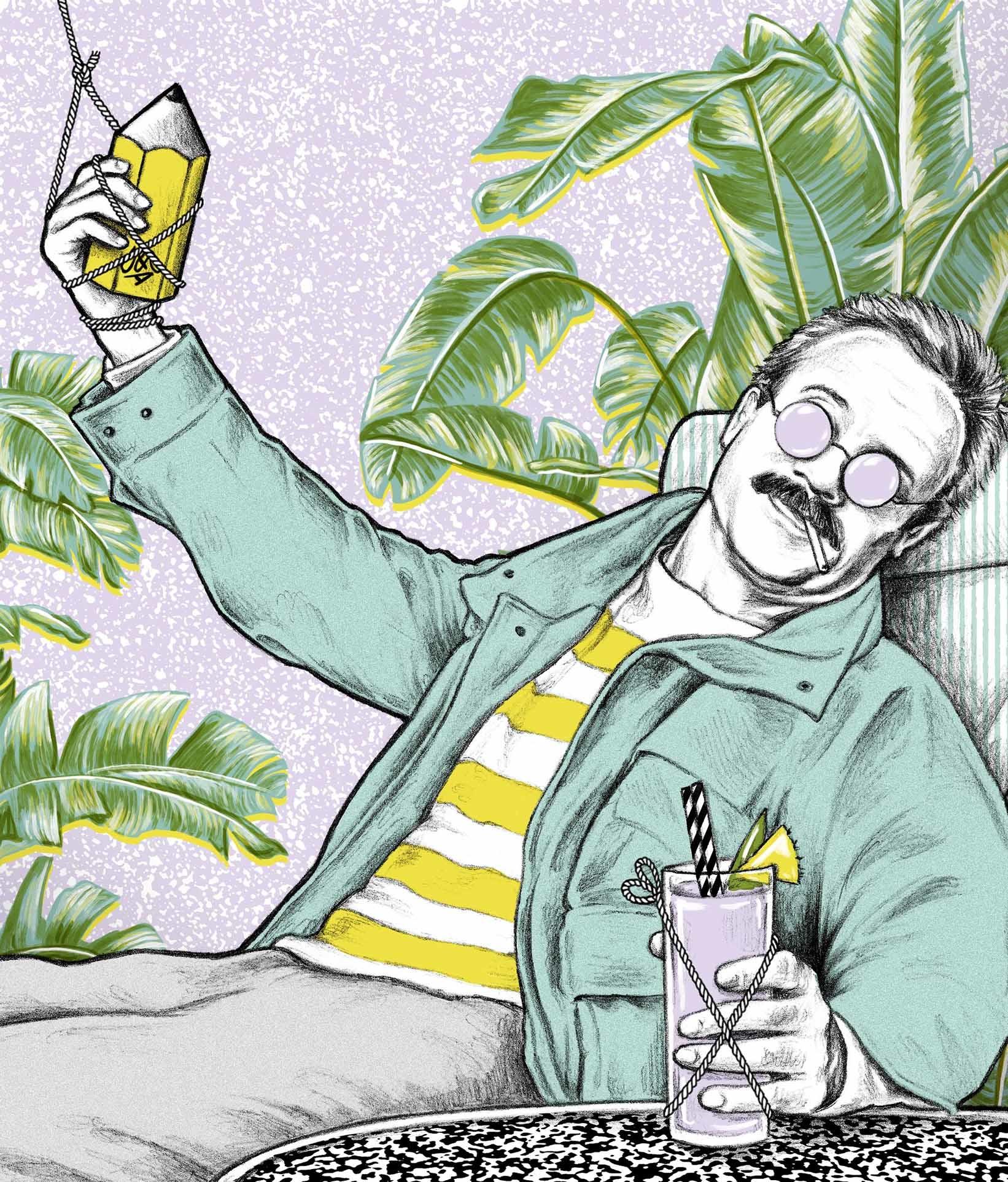 Creative-Review-Ben-Kay-column-editorial-weekend-at-bernie's-1980s-80s-Jennifer-Dionisio-prints-illustration-illustrator-artwork.jpg