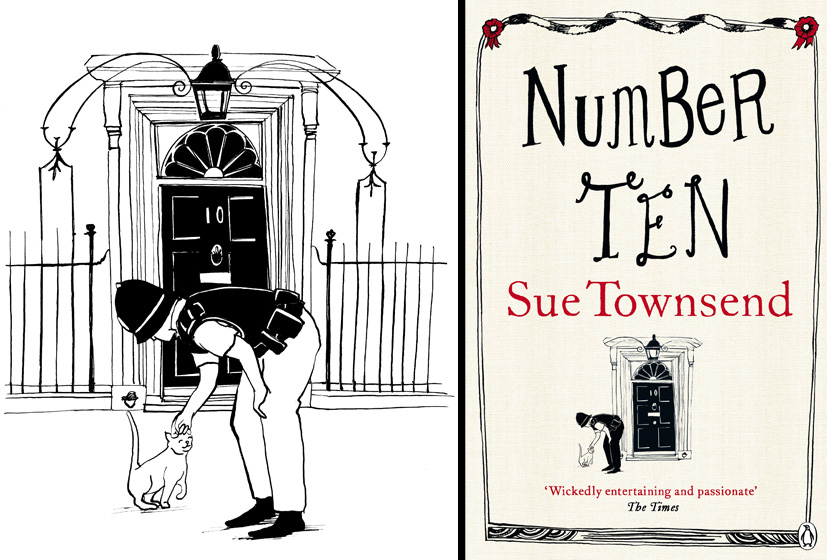 Sue Townsend Cover - Number Ten