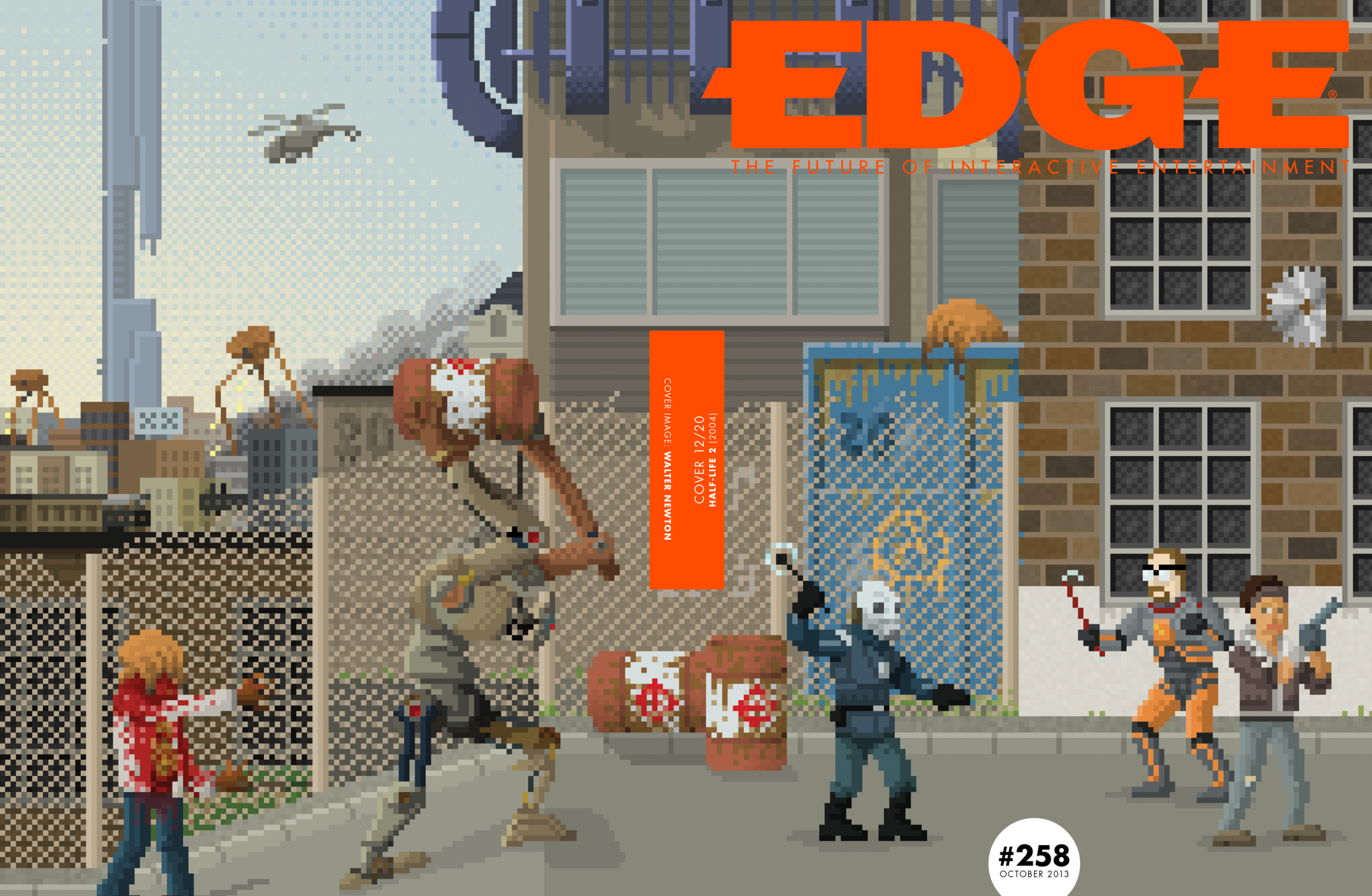 20th Anniversary Front Cover Half Life 2 / EDGE Magazine