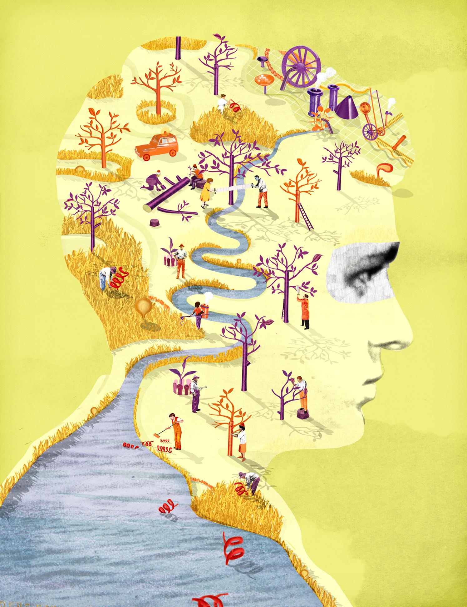 Th Mind Minders / New Scientist Magazine