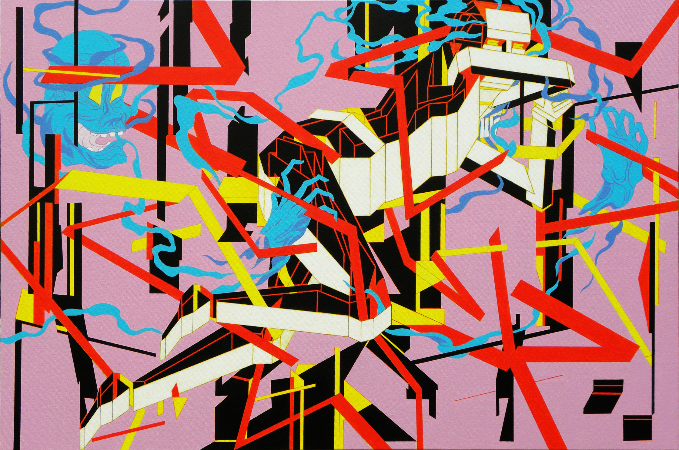Fight or Flight2 - acrylic on canvas - 91 x 61 cm.jpg