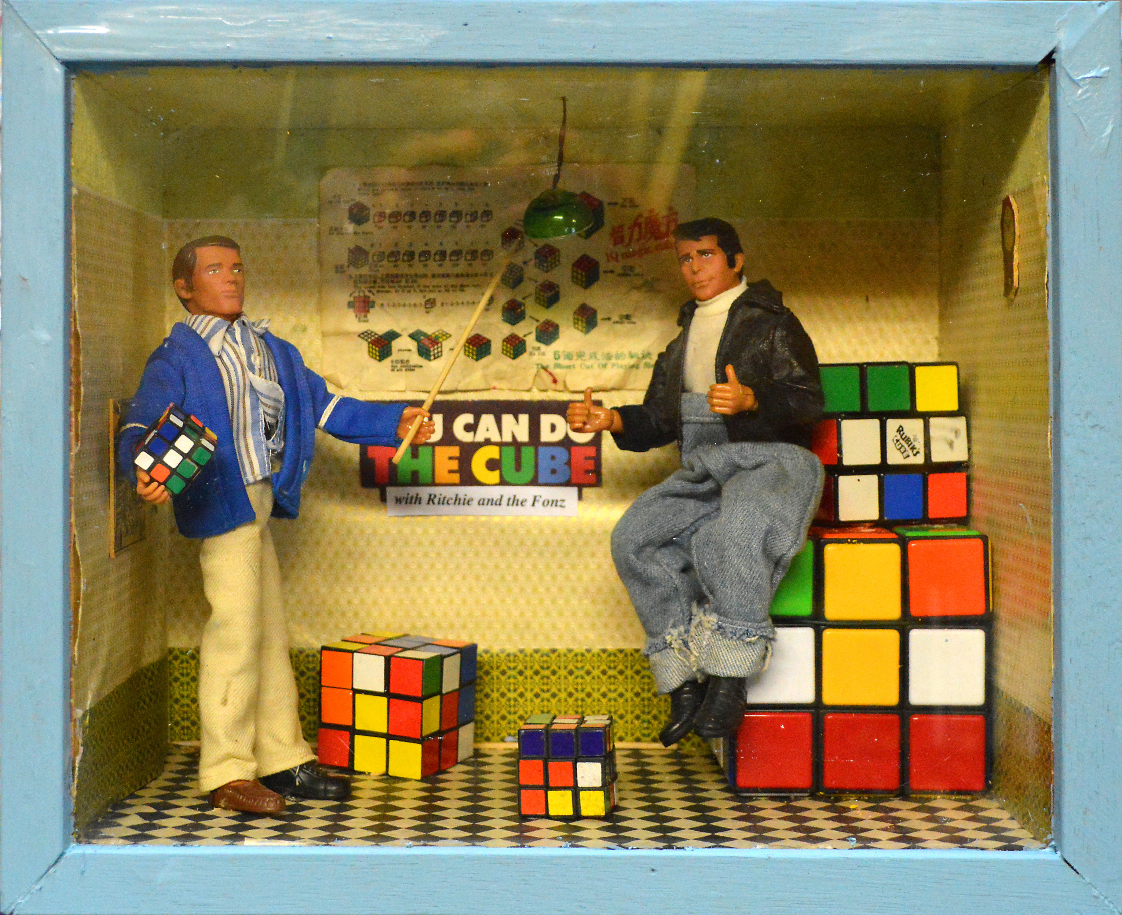Rubic's Cube Fonze Dolls 3D