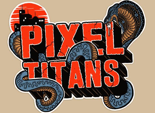 Pixel Titans Logo