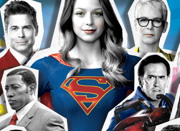 Fall Preview Super Girl TV Guide magazine USA