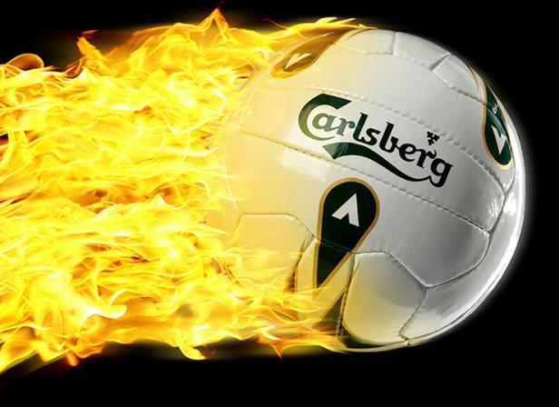 Carlsberg Flaming