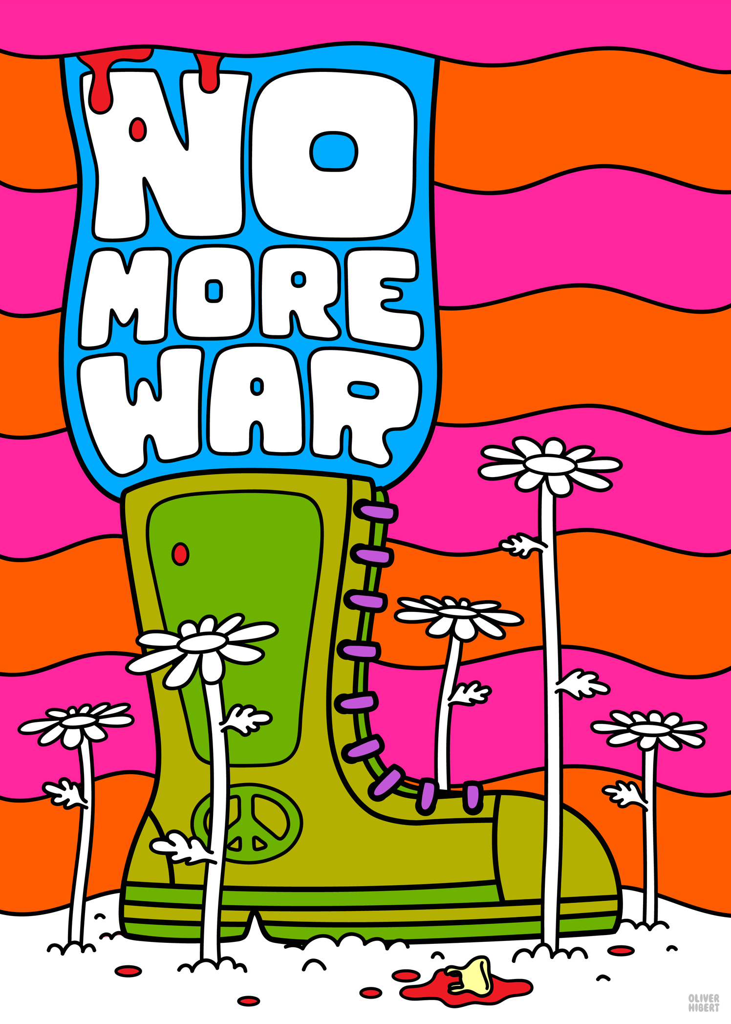 No More War Boot