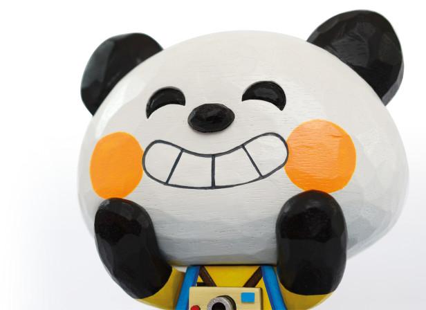 Pictoplasma Panda Otaku Portrait