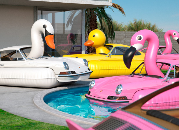 flock of porsche flamingos.jpg